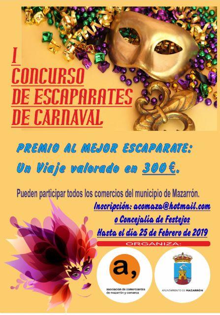 El I concurso de escaparates de Carnaval ambientará los comercios en las próximas semanas, Foto 2