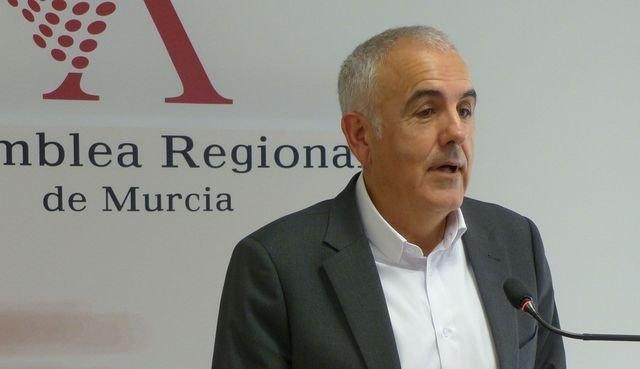 El PSOE afirma que el PP no está legitimado para criticar la gestión del Gobierno de España y Diego Conesa para modernizar las infraestructuras ferroviarias de la Región