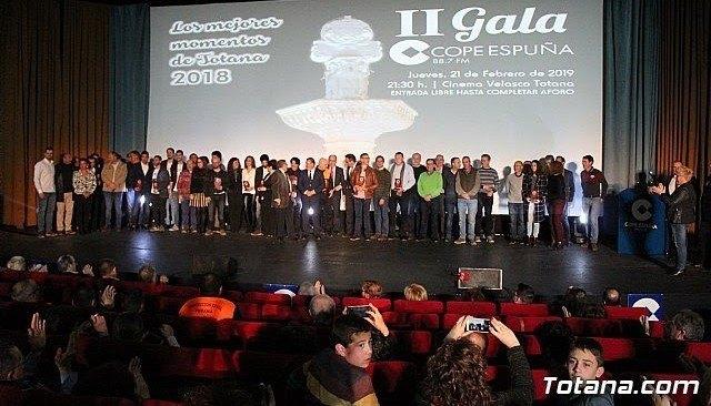 Galardonados II Gala Cope Espuña, Foto 1