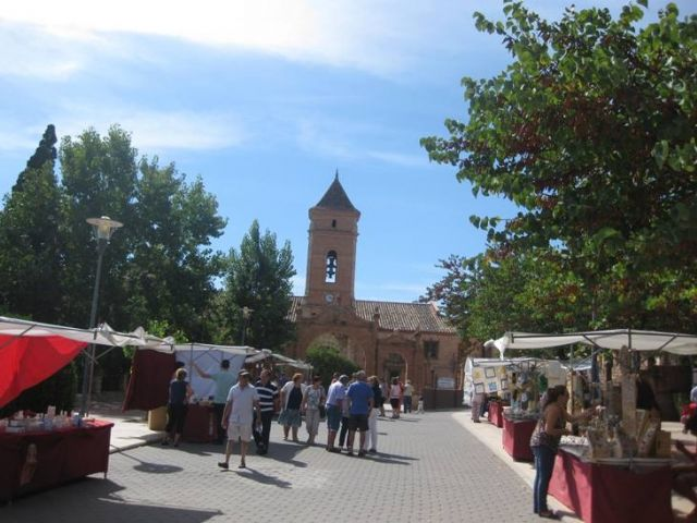 The Artisan Market of La Santa is once again celebrated, after the Christmas holidays, this coming Sunday, February 24