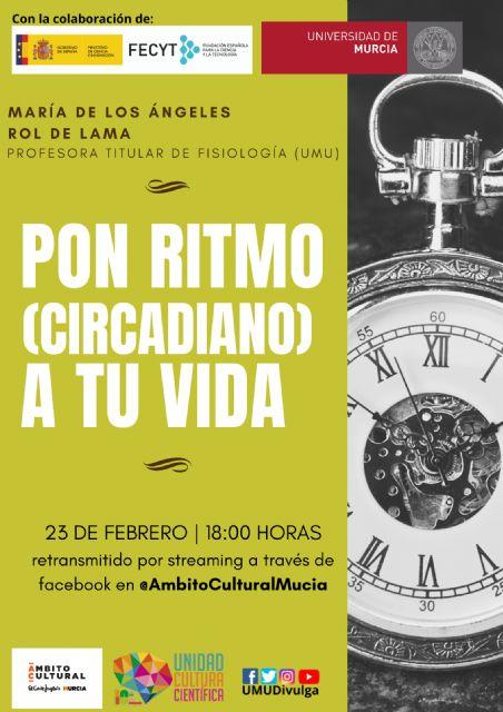La UMU te invita a poner ritmo circadiano a tu vida con su nueva conferencia junto a El Corte Inglés - 1, Foto 1