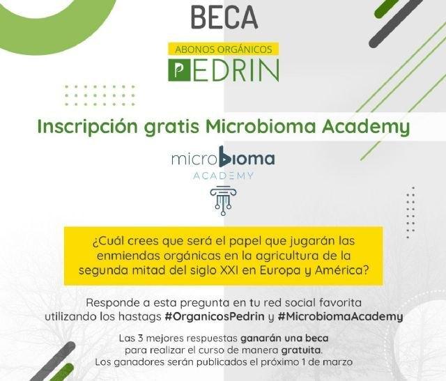 Orgánicos Pedrín becará a tres alumnos del I Curso Internacional de Especialización en el uso de microorganismos aplicados a la agricultura - 1, Foto 1