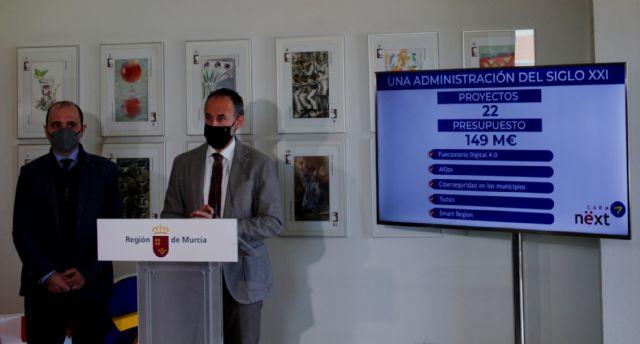 El Gobierno regional diseña una veintena de proyectos para acercar la Administración al ciudadano mediante la transformación digital, Foto 1