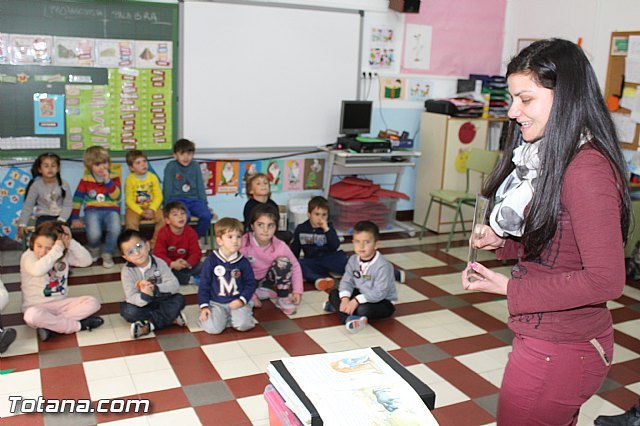 "A total of 30 children participating in the ""Holidays 3.0"" Easter Edition in the CEIP ""Santiago"" project - 1"