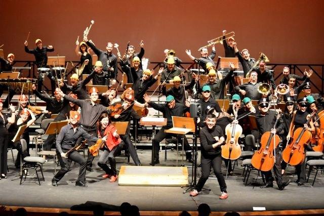 La Sinfónica de la Región presentará su espectáculo familiar ´La patrulla sinfónica´ en Abarán y Cartagena - 1, Foto 1