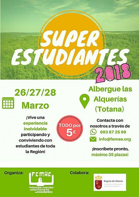 """Totana acogerá el Encuentro """"SuperEsudiantes´2018"""", Foto 3"""