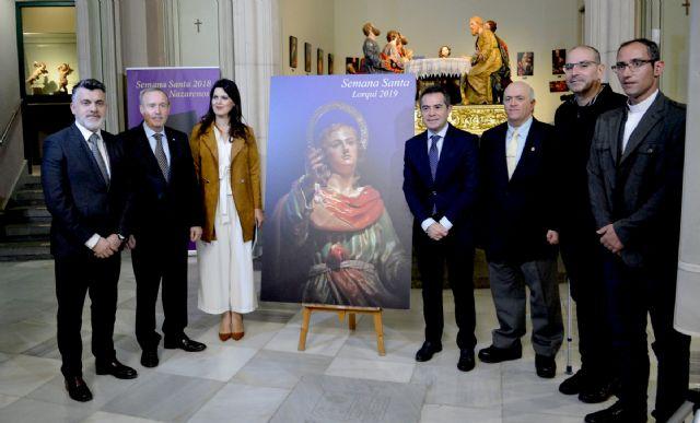 La imagen del joven San Juan de Francisco Liza, protagonista del cartel de Semana Santa de Lorquí - 2, Foto 2