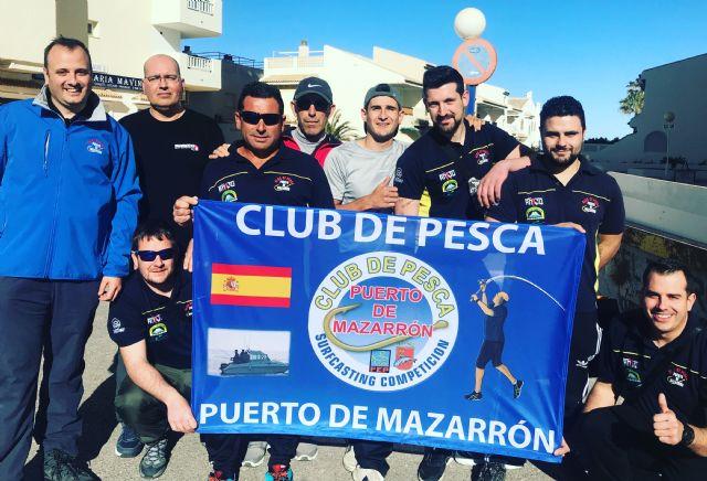 El club de pesca de Puerto de Mazarrón logra el campeonato regional individual, Foto 1