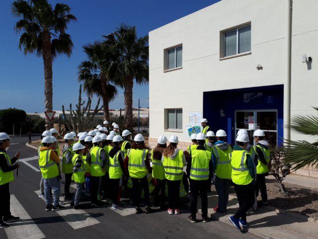 Hidrogea celebra el Día Mundial del Agua con estudiantes de Alcantarilla y de Águilas, Foto 1