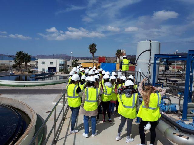 Hidrogea celebra el Día Mundial del Agua con estudiantes de Alcantarilla y de Águilas, Foto 2