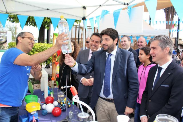El Día Mundial del Agua tuvo hoy a nivel regional su punto de encuentro en nuestro Museo de la Huerta, contando con el Presidente del Gobierno Regional - 3, Foto 3