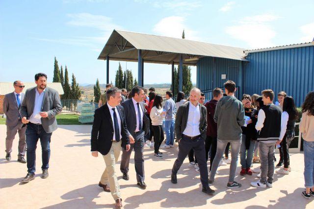 Alcantarilla celebró con Hidrogea el Día Mundial del Agua con estudiantes del IES Alcántara - 3, Foto 3