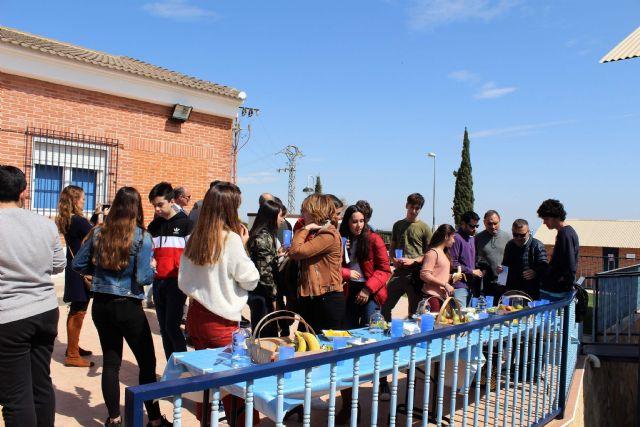 Alcantarilla celebró con Hidrogea el Día Mundial del Agua con estudiantes del IES Alcántara - 5, Foto 5