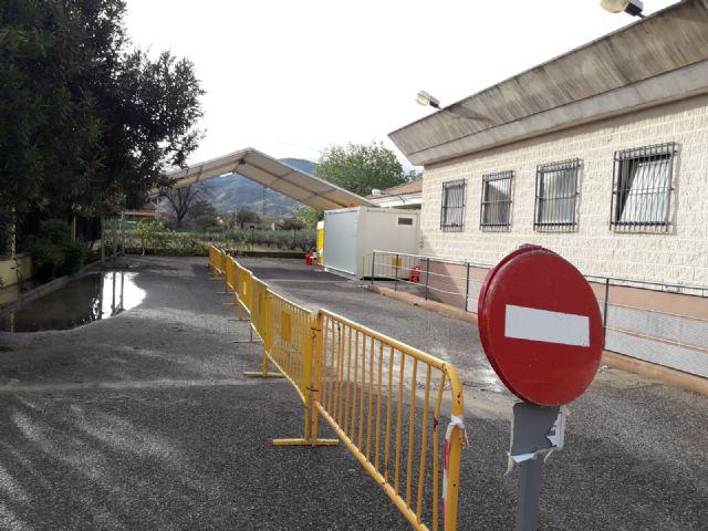 El Servicio Murciano de Salud instala en el consultorio de Campillo el primer centro del área III para la realización de pruebas de coronavirus - 1, Foto 1