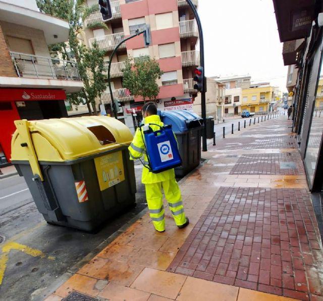El Ayuntamiento intensifica el dispositivo especial de limpieza y desinfección para frenar la propagación del coronavirus - 1, Foto 1