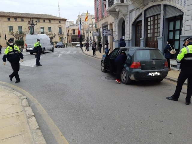 The Local Police sanctions 17 more people for disobedience and raises this figure to 42 in this municipality since the state of alarm entered, Foto 3