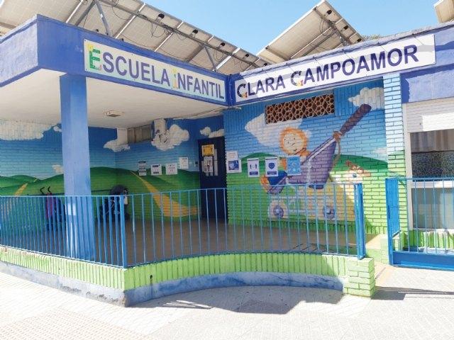 """Se establece del 25 de marzo al 30 de abril el plazo de solicitudes para la Escuela Infantil Municipal """"Clara Campoamor"""" de cara al curso 2021/22"""