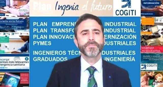 El yeclano José Antonio Galdón, presidente del Consejo General de la Ingeniería Técnica Industrial de España, presenta el Plan Ingenia el futuro - 1, Foto 1