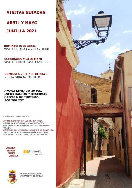 Visitas guiadas abril y mayo - Turismo Jumilla - 1, Foto 1
