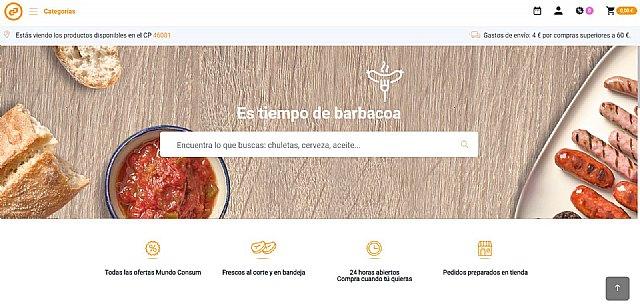 Consum amplía su tienda online a treinta poblaciones de Murcia - 1, Foto 1