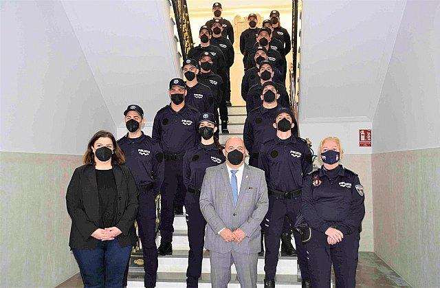 Incorporación de 16 nuevos agentes en el cuerpo de la Policía Local de Cieza - 1, Foto 1