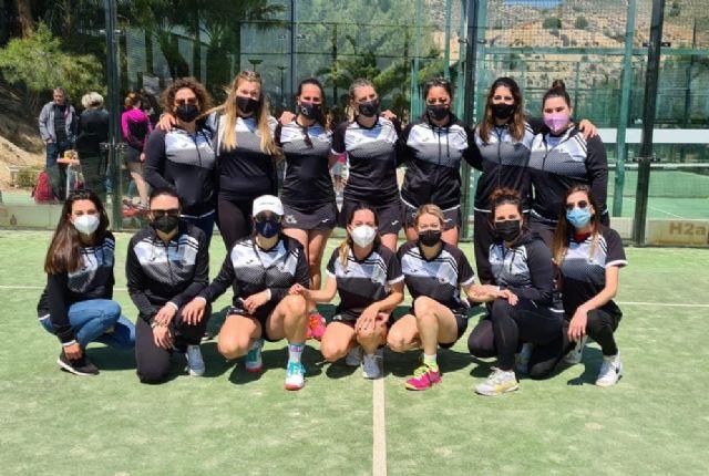 [Resultados de los equipos de pádel del Club de Tenis Totana