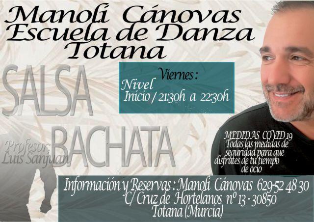 [Nuevo grupo de salsa y bachata en la Escuela de Danza Manoli Cánovas
