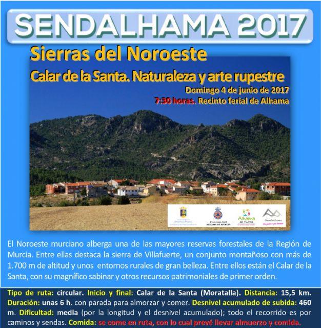 Abierto el plazo de inscripción para la ruta nº 5 de Sendalhama 2017, Foto 1