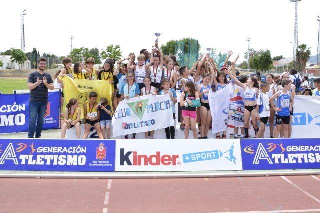 El Club Atletismo Alhama presente en todos los pódiums del 'Cto. Regional de Clubes', Foto 4
