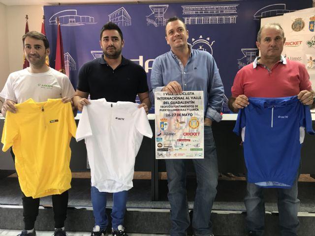 La I Vuelta Ciclista Internacional al Valle del Guadalentín llegará el 27 de mayo a Puerto Lumbreras - 1, Foto 1