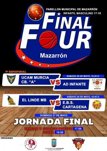 Mazarrón acoge la final a 4 del campeonato regional de baloncesto infantil masculino - 1, Foto 1