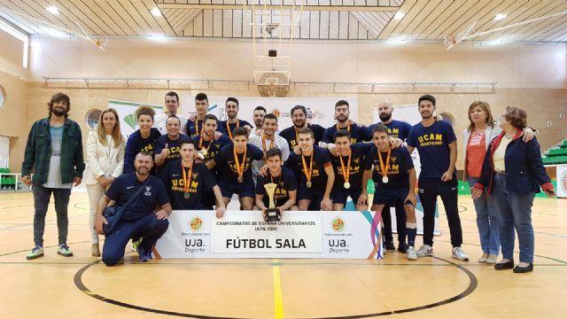 La UCAM vuelve a batir el récord de medallas en el Campeonato de España Universitario - 1, Foto 1