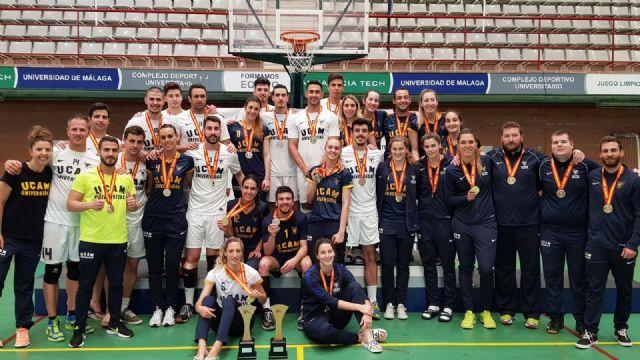 La UCAM vuelve a batir el récord de medallas en el Campeonato de España Universitario - 4, Foto 4