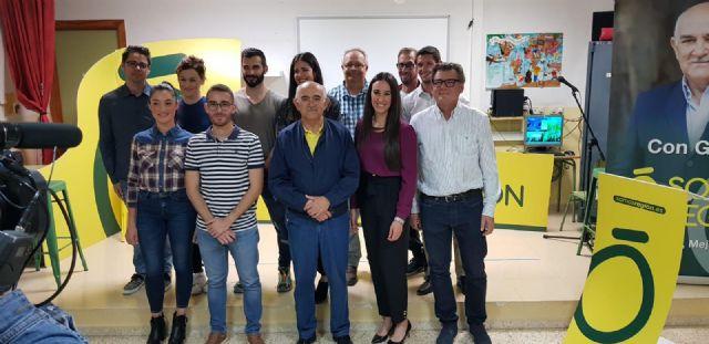 """Alberto Garre: """"Me siento orgulloso de cada candidato de Somos Región. No todos pueden decir lo mismo"""", Foto 2"""