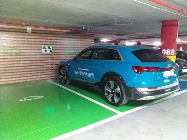 Los hoteles de Grupo Fuertes Agalia y Azarbe instalan puntos de recarga para vehículos eléctricos, Foto 1