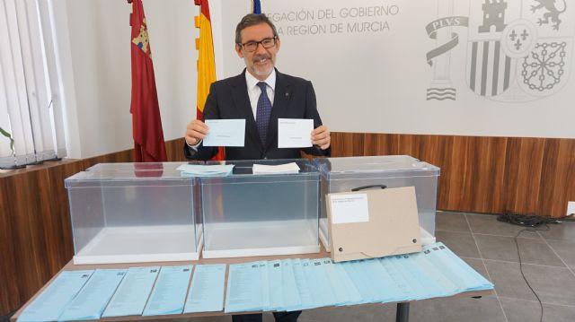 1.041.282 electores elegirán a 769 concejales de los 45 municipios de la Región de Murcia en las elecciones locales del próximo domingo