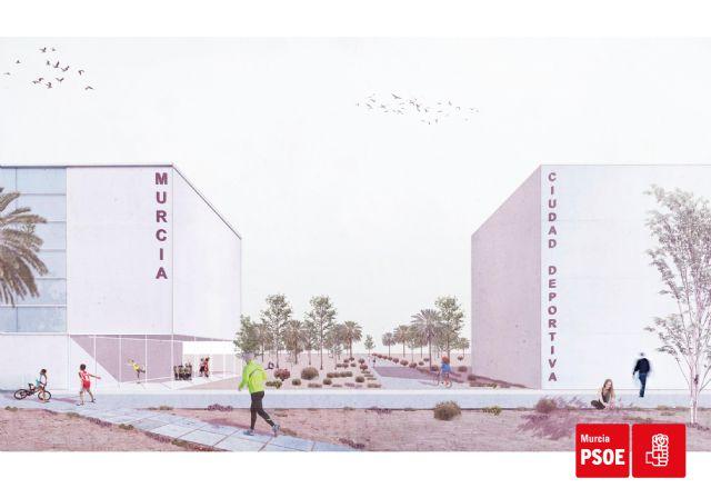 Serrano: Haremos de Murcia un referente del deporte base y de competición construyendo una Ciudad Deportiva en el norte del municipio - 3, Foto 3