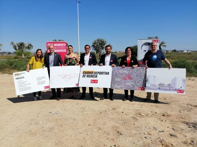 Serrano: Haremos de Murcia un referente del deporte base y de competición construyendo una Ciudad Deportiva en el norte del municipio - 4, Foto 4