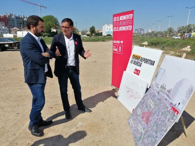 Serrano: Haremos de Murcia un referente del deporte base y de competición construyendo una Ciudad Deportiva en el norte del municipio - 5, Foto 5