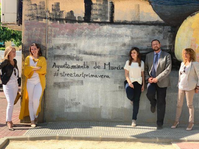 El concejal Guillén visita las obras de renovación integral del jardín Santa Rosa de Santiago el Mayor - 1, Foto 1