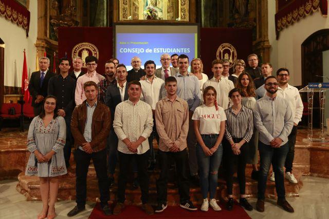El Consejo de Estudiantes de la UCAM se presenta ante la comunidad universitaria - 1, Foto 1