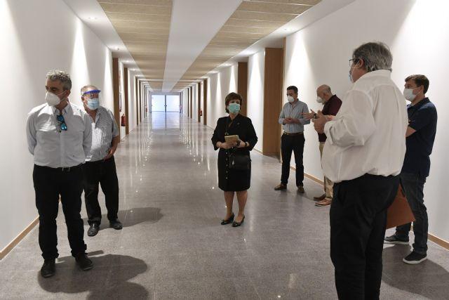 Finaliza la obra del aulario del campus de Ciencias de la Salud de la Universidad de Murcia - 1, Foto 1