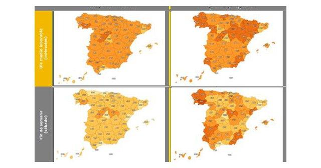 Los territorios que se encuentran en fase 1 muestran un aumento significativo de la movilidad intraprovincial, en fin de semana y en trayectos inferiores a 2 km - 1, Foto 1