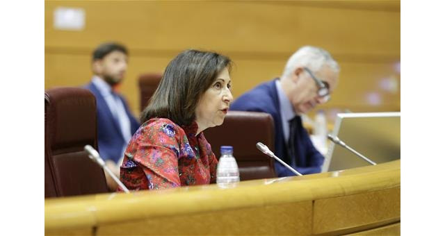 Robles explains in the Senate the lines of the Ministry and the management of Defense against the coronavirus, Foto 1