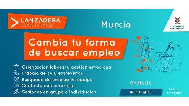 El jueves concluye el plazo de inscripción para participar en la ´Lanzadera Conecta Empleo´ de Murcia - 1, Foto 1