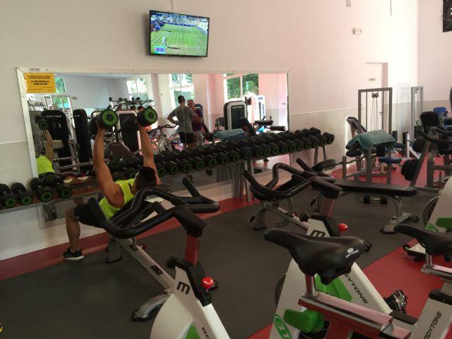 Reabre el gimnasio del Complejo Deportivo Guadalentín tras su reforma, Foto 1