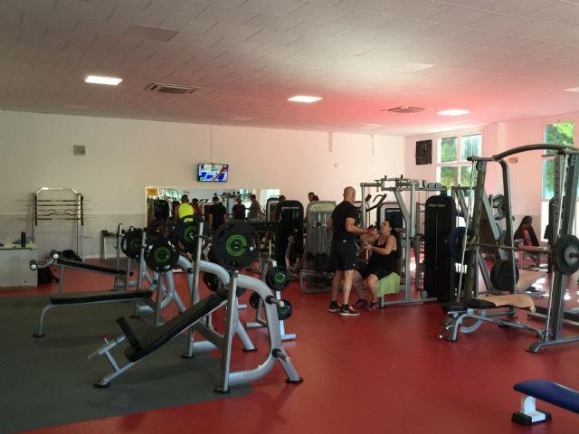 Reabre el gimnasio del Complejo Deportivo Guadalentín tras su reforma, Foto 2