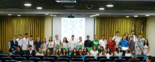 Medio centenar de alumnos de Bachillerato participan en un Congreso celebrado en el CEBAS-CSIC - 2, Foto 2