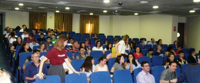 Medio centenar de alumnos de Bachillerato participan en un Congreso celebrado en el CEBAS-CSIC - 3, Foto 3