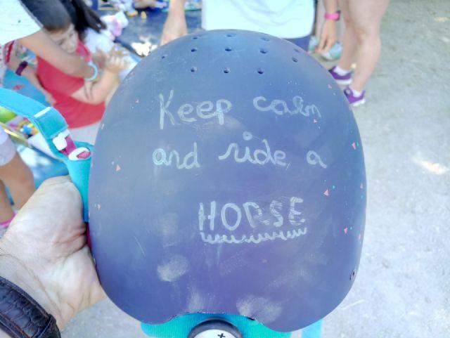 Terapia con caballos para estimular el desarrollo infantil, Foto 1